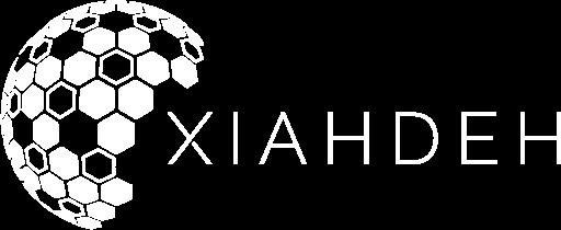 XIAHDEH - Logo horizontal blanc