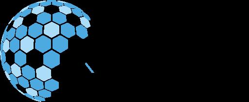 XIAHDEH - Logo horizontal bleu